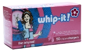 Whip-it Cream Chargers Limited Edition Pink ( Cancer Research)